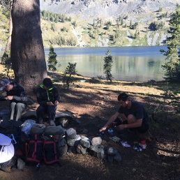 Camping at Gilmore Lake